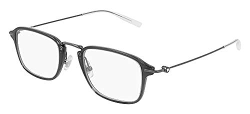 Montblanc Gafas de Vista MB0159O Grey 50/22/145 hombre