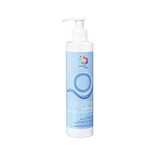 Acquasfera - Agua micelar, desmaquillante exfoliante y emoliente, incluso sin enjuague.