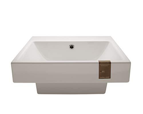 Catalano Keramik Waschtisch Modell New Zero weiß 50x50x19cm