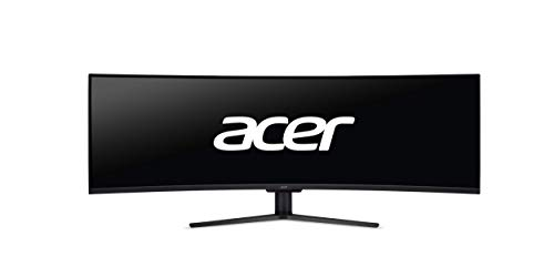 109 cm (43 Zoll) Curved ZeroFrame 32:10 120Hz FreeSync HDR400 4ms 320 nits (400 nits Peak) VA LED 3xHDMI DP MM Audio Out Remote schwarz
