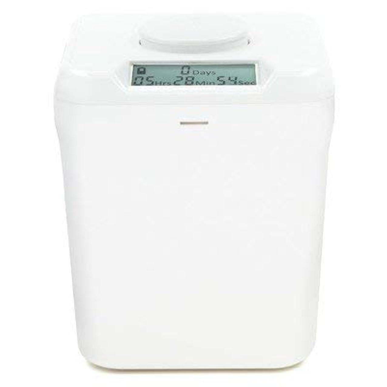 ベルト北へお香Kitchen Safe: Time Locking Container (White Lid + White Base) - 14cm inside height