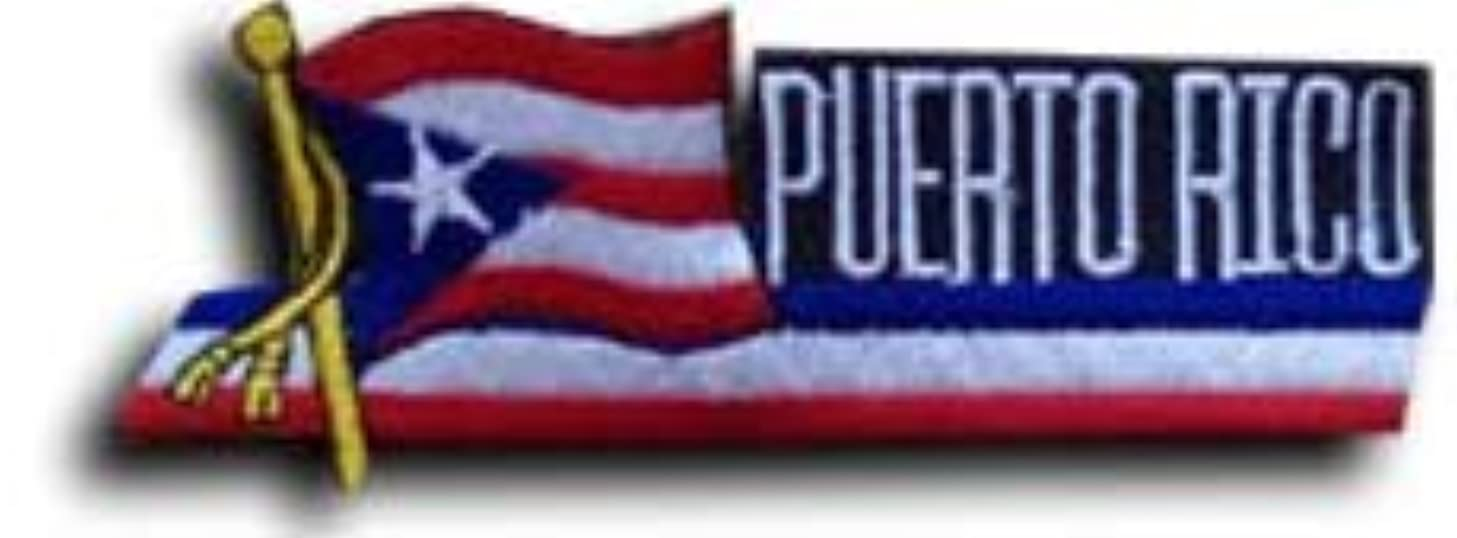 Puerto Rico - Country Flag Patch
