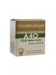 Laboratoires Zannini Orodietologie A40 CLA Fats Regulator 40 Orogranules by Laboratoires Zannini