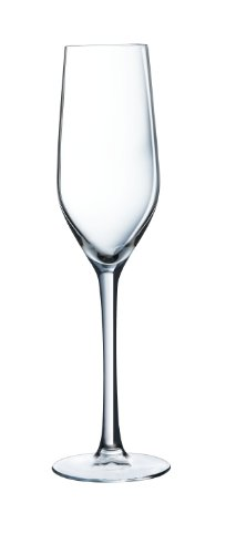 Luminarc 9202603 6 Flutes 16 cl Hermitage , Transparent