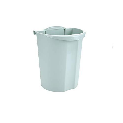 Zceras Trash Tür Küchenschrank Tragbare Küche Trash Trash Auto Minirock Wand Bad Trash Lagerplätze 24.8 X 21X31 cm (Color : Green)