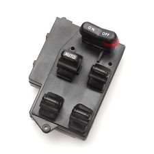 35750-SV1-A01 Well Auto Power Window Switch 5 Button 94-97 Accord Sedan and Wagon EX for Japan Built Model (Vin # Start with J)
