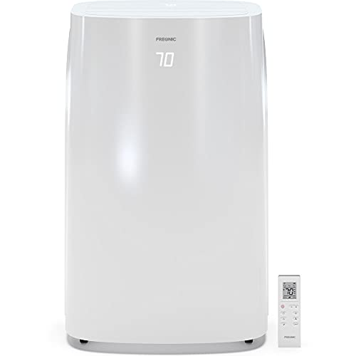 Freonic Energy Star 6,000 BTU Portable Air Conditioner | Energy Star | LED Display | 24H Timer | Auto-Restart | Sleep Mode | Dehumidifier | AC for Rooms up to 300 Sq. Ft | FHCP061AKR