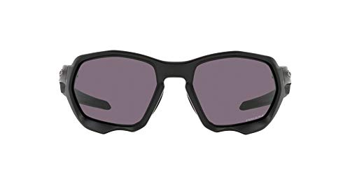 OO9019 Oakley Plazma Sunglasses, Matte Black/Prizm Grey, 59mm