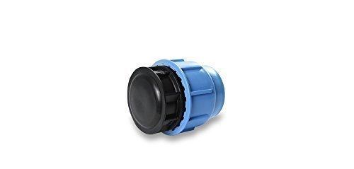 PP Embout 16 bar DVGW PE tuyau connecteur Fitting 16,20 d'irrigation et 25 mm Jardin endstopfen 25 mm