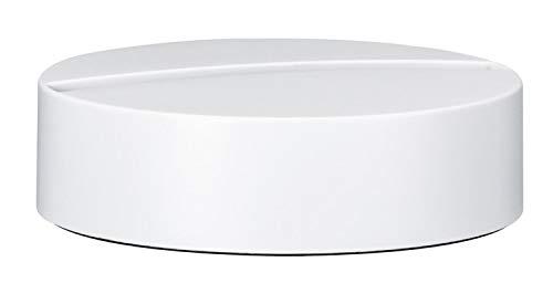 Paulmann 79535 Lampe de Table, Aluminium, Blanc dépoli, 10,4 x 10 x 3,3 cm