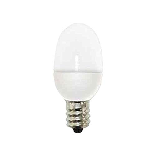 GE Lighting 14150 0.5-Watt C7 Night Light LED Bulb with Candelabra Base, Soft White, 2-Pack