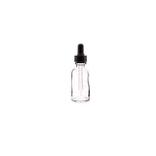 12 pcs bouteille en plastique transparent Essential Oil pot avec Dropper cosmétique de maquillage échantillon Pot 30ml Bouteille Container