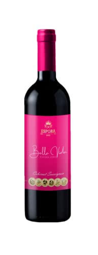 Vino Sin Alcohol -Espora Bella Vida- Pack de 6 Botellas x 750 ml