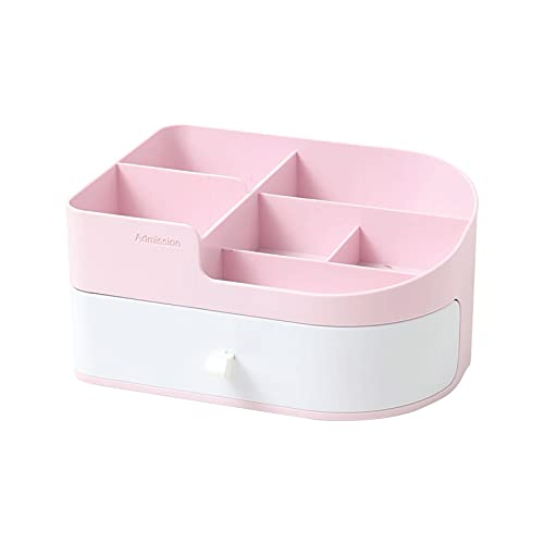 TTYUNDING Organizer for Cosmetics ,Large CapacityCosmetic Storage Box Organizer Table Applicable to Lipstick Jewelry Box Finishing Dressing Table Dust-Proof Shelf