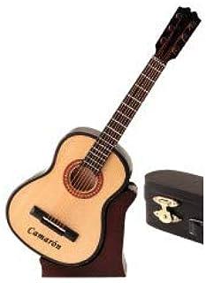 REGALOS LLUNA Miniatura Guitarra ESPAÑOLA CAMARÓN.: Amazon.es: Hogar