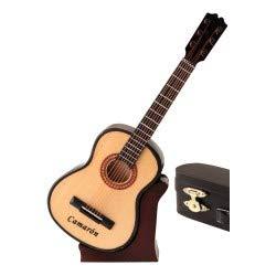 REGALOS LLUNA Miniatura Guitarra ESPAÑOLA CAMARÓN.
