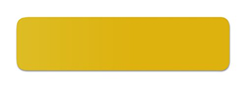 Anhänger Planen Reparatur Pflaster | in vielen Farben erhältlich | 40cm x 10cm | SELBSTKLEBEND | Speed Repair | RAL 1032 gingstergelbDHL