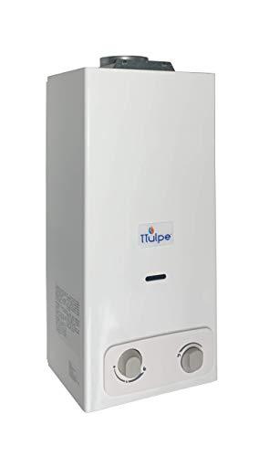 TTulpe Propangas-Durchlauferhitzer Indoor B-6 P50 Eco, 1.5 V, Weiß