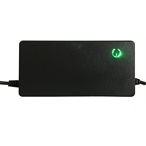 MKIU Chargeur De Batterie Au Lithium 48v 2a étanche à L'humidité, Adaptateur d'alimentation 5.5x2.5mm pour Vélo électrique Et Scooter équipement De Charge pour Voiture,E,36V 2A