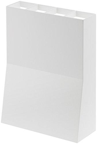山崎実業 傘立て アンブレラスタンド ベース ホワイト 3453