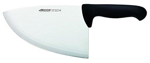 Arcos Serie 2900, Chuletera, Hoja de Acero Inoxidable Nitrum de 220 mm, Mango inyectado en Polipropileno Color Negro