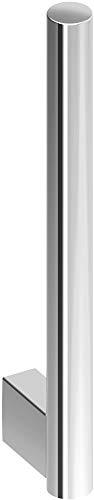 KEUCO Ersatz-Rollenhalter aus Metall, hochglanz-verchromt, WC-Rollenhalter für Badezimmer und Gäste-WC, 2 Rollen, Toilettenpapier-Halter, Plan