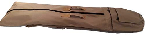 New Large Detector Bag/Carrying Case with Shoulder Strap and Carry Handles. for All Garrett Ace Models, Garrett at Pro & Gold etc. Universal Carrying & Storage Bag for Metal Detectors. (Desert)