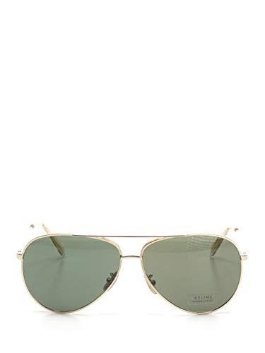 Luxury Fashion | Céline Heren 4S059CMEB35SG Goud Metaal Zonnebrillen | Lente-zomer 20