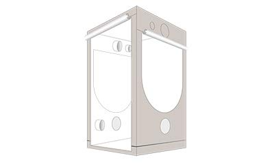 Grow box Homebox Ambient Q120 - 120 x 120 x 200 cm