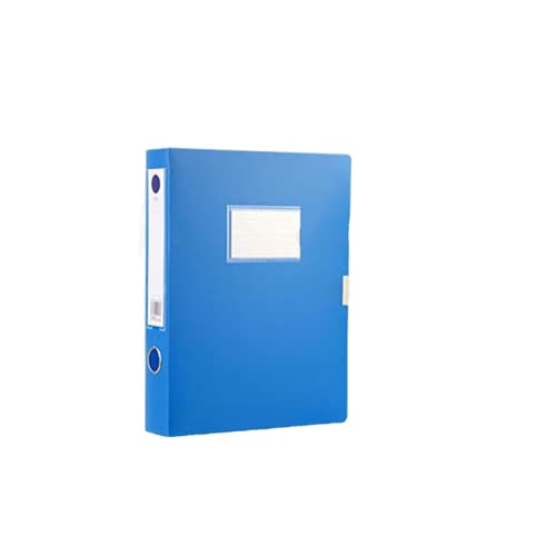 JWDS carpeta Caja De Almacenamiento De Fechas De Archivo De Archivo A4 Office Organizer