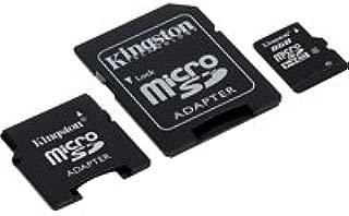Kingston - Tarjeta de Memoria MicroSDHC 8 GB con 2 ...