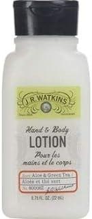 J. R. Watkins Hand & Body Lotion Aloe & Green Tea 0.75oz Set of 22