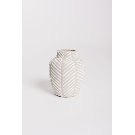 HOME: Terra-cotta Vase w/ Stripes in White – Piper & Scoot