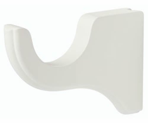Kirsch Standard Wood Bracket Short:White