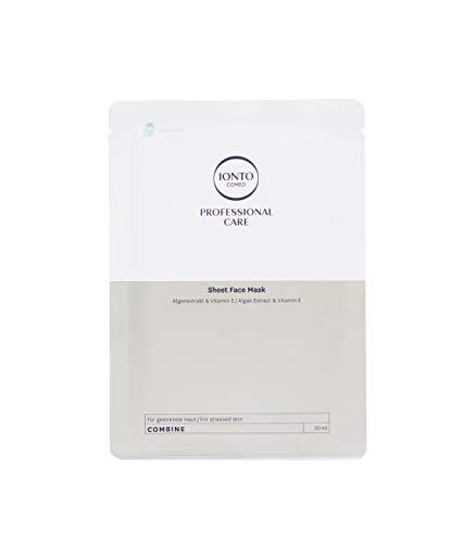 Ionto Comed Sheet Face Mask Algenextrakt & Vitamin E / Deep See 3 x 30 ml