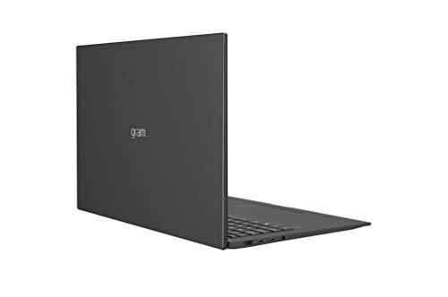 LG - Portátil gram 17Z90P Windows 10 Home, Ultraligero de 43.2 cm (17') WQXGA 16:10 IPS (1.3 Kg, autonomía 15h, Intel EvoTM i7 11ª Gen., Iris Xe, 16GB RAM, 512GB SSD NVMe), Teclado Español, Negro