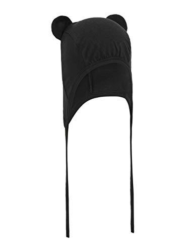 Mütze mit Mickey-Mouse-Ohren in schwarz von Name It 45-47/8-12 Monate