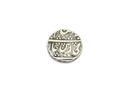 PH Mughal Moneda Plata Rupia de Shah Alam Bahadur Surat Mint (1707-1712) KM # 348.34
