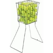 Ballsammelkorb für Tennis - Ballhopper - Tenniszubehör von CARRINGTON® Bis zu 96 Bälle
