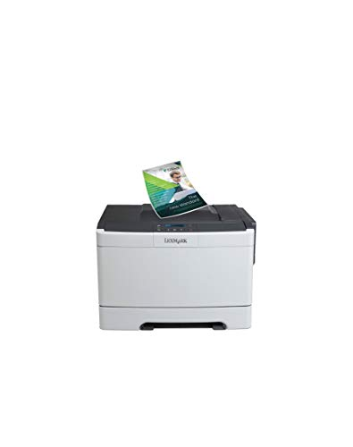Lexmark CS310n Compact Color Laser Printer, Network Ready and Professional Features (Certified Refurbished)
