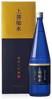 白瀧酒造(株) 白瀧 上善如水 純米大吟醸 1800ml/6本.hn 新潟 お届けまで10日ほどかかります
