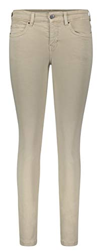 MAC Jeans Damen Dream Skinny Jeans, Smoothly Beige, 34W / 28L