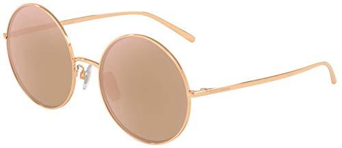 Ray-Ban 0DG2215K Occhiali da Sole, Multicolore (Pink Gold Plated), 58.0 Donna