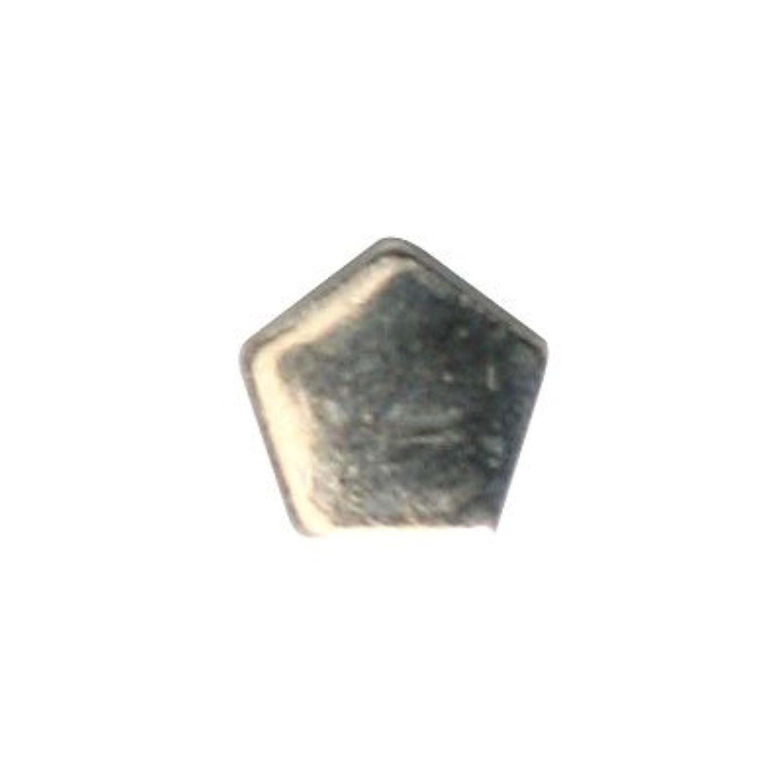 パシフィックレプリカ壁ピアドラ スタッズ ペンタゴン 3mm 50P シルバー