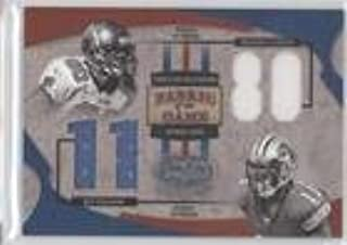 Michael Clayton; Roy Williams #64/80 (Football Card) 2005 Leaf Certified Materials - Fabric of the Game - Jersey Number [Memorabilia] #FG-90