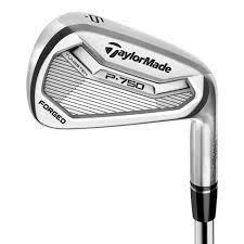New Taylormade P750#3-PW Iron Set, Steel KBS Tour FLT 120 Stiff Flex