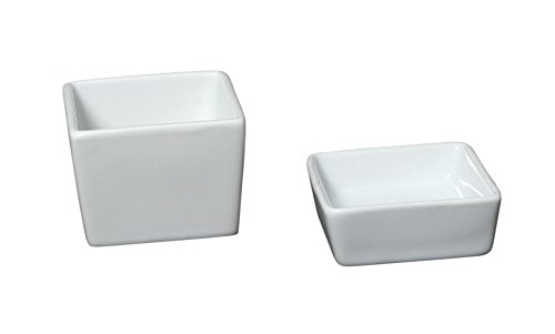Genware nev-353006 Royal ovenschotel vierkant, 4 stuks pasvorm 353028 (12 stuks)