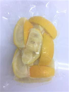 国産冷凍レモン 1/8カット (国産 徳島産) 250g 【消費税込み】