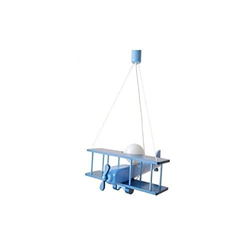 ItalPol Produkt espléndido lámpara de madera avión 45cm x 42cm de dormitorio bimbo.