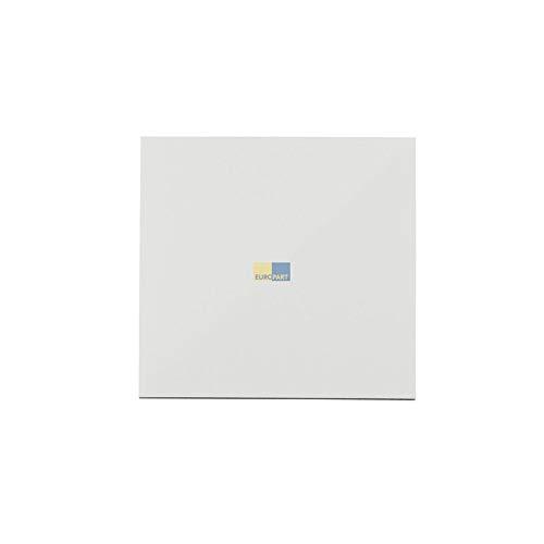 LUTH Premium professionele afdekplaat voor woonkamerventilator 100 wit glanzend voor plafond muur badkamer toilet etc